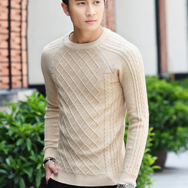 S11490A 2015 clothing knitting patterns men custom sweater
