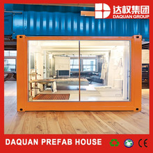 Promotion! DAQUAN ready made living modified container house of designs in india