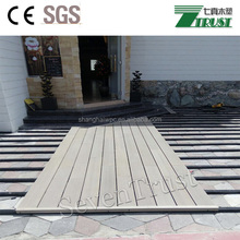 Outdoor decoration materials, bio- wood flooring, WPC decking for wholesale