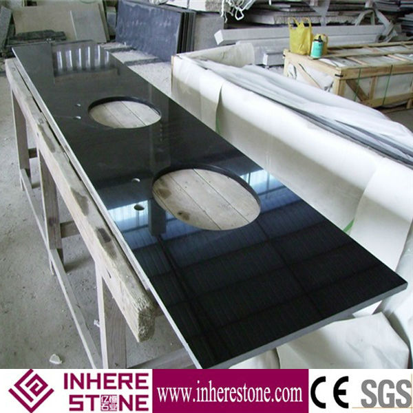 Mongolia Black granite bathroom vanity