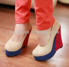 hot high heels 2013 new style ladies fashion wedges shoes JH47