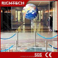 BEST SALE! RichTech glass window projection screen self adhesive glass film