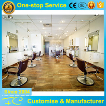 2017 newest MDF wood furniture design for barber shop