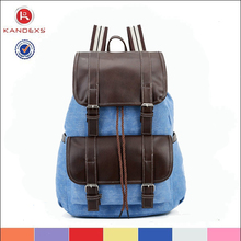 New Style Travel Vintage Canvas Backpack Canvas Backpacks For Mens Wholesale Laptop Backpack Bag