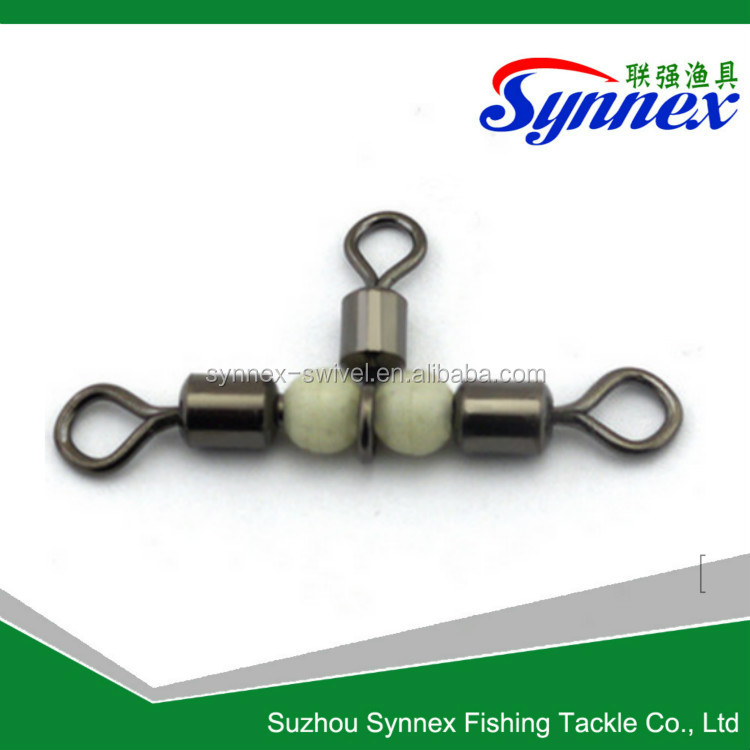 rolling swivel Fishing Tackle Luminous Beads Carp Swivel