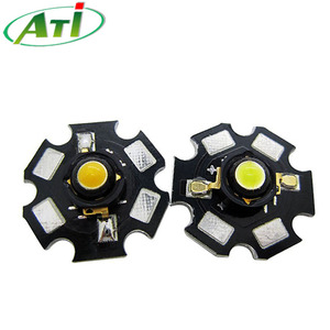 3w high power led, 3w led with heatsink