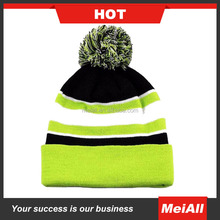 wholesale custom beanie woven label 100% acrylic beanie hats/knitted beanie in winter hat