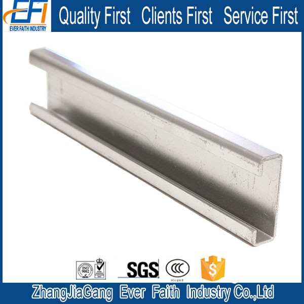 Structural Steel China Supplier C Shape Channel For Construction