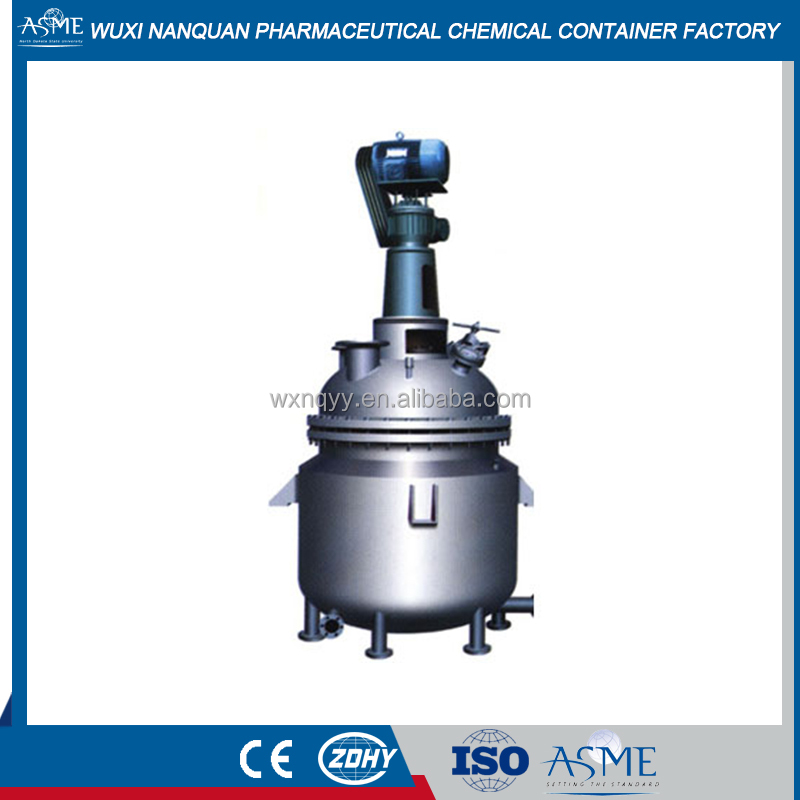 Steam Heating Stainless Steel Reactor/Chemical Reaction Vessel