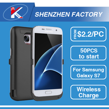 2017 Wireless UPS Battery Case for Galaxy S4 S7, Waterproof JLW Power Bank Charger Case Samsung J1 J5