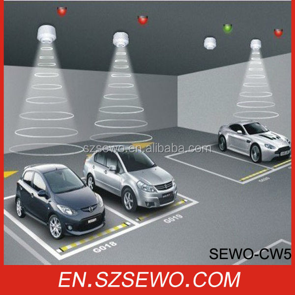 Multi Level Car Parking System-Indoor Garage Ultrasonic Sensor Carpark Guidance System