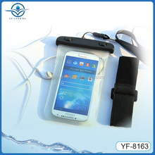 waterproof case for samsung galaxy s4 mini with earphone jack arm belt