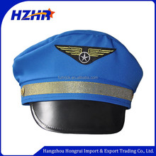 Factory direct sale blue police cap Sailor Captain Hat for party