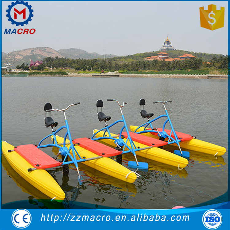 Attractive Design Reliable Quality Pedal Boat Paddle Water Bike For Sale