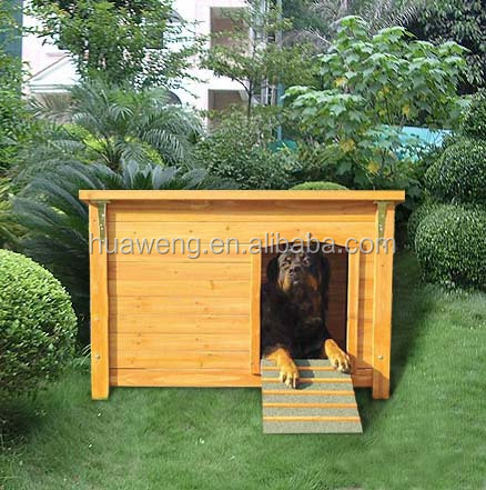 Classical wooden dog house pet house pet cage