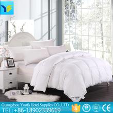 soft microfiber filling thick quilt,wholesale polyester quilt, luxury white cotton quilt for hotel