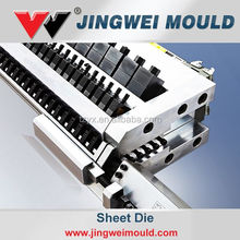 Sheet Extruder T-Die and Sharer/ feedblock/ distributor