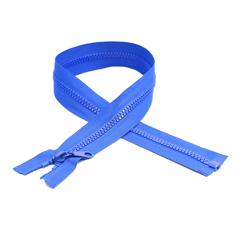 Zipper manufacturer YKK color available vislon zipper, plastic zipper, resin zipper