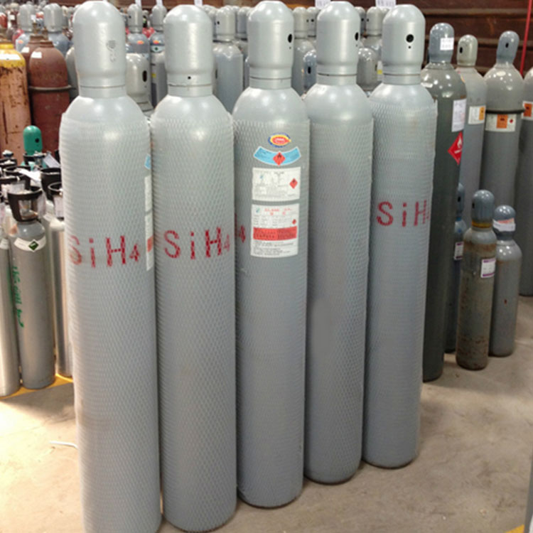 Best manufacture Silane/Silicon hydride 99.9999% SIH4 gas CAS NO. 7803-62-5