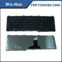 Laptop for toshiba satellite c660 keyboard russian layout, for toshiba C670 C675 series keyboard