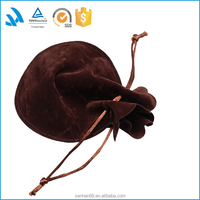 New products 2016 calabash shape cotton jewelry pouch, small cotton bag, beautiful pouch bag