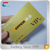 CMYK offset printing metallic membership VIP card printer magnetic stripe pvc plastic card