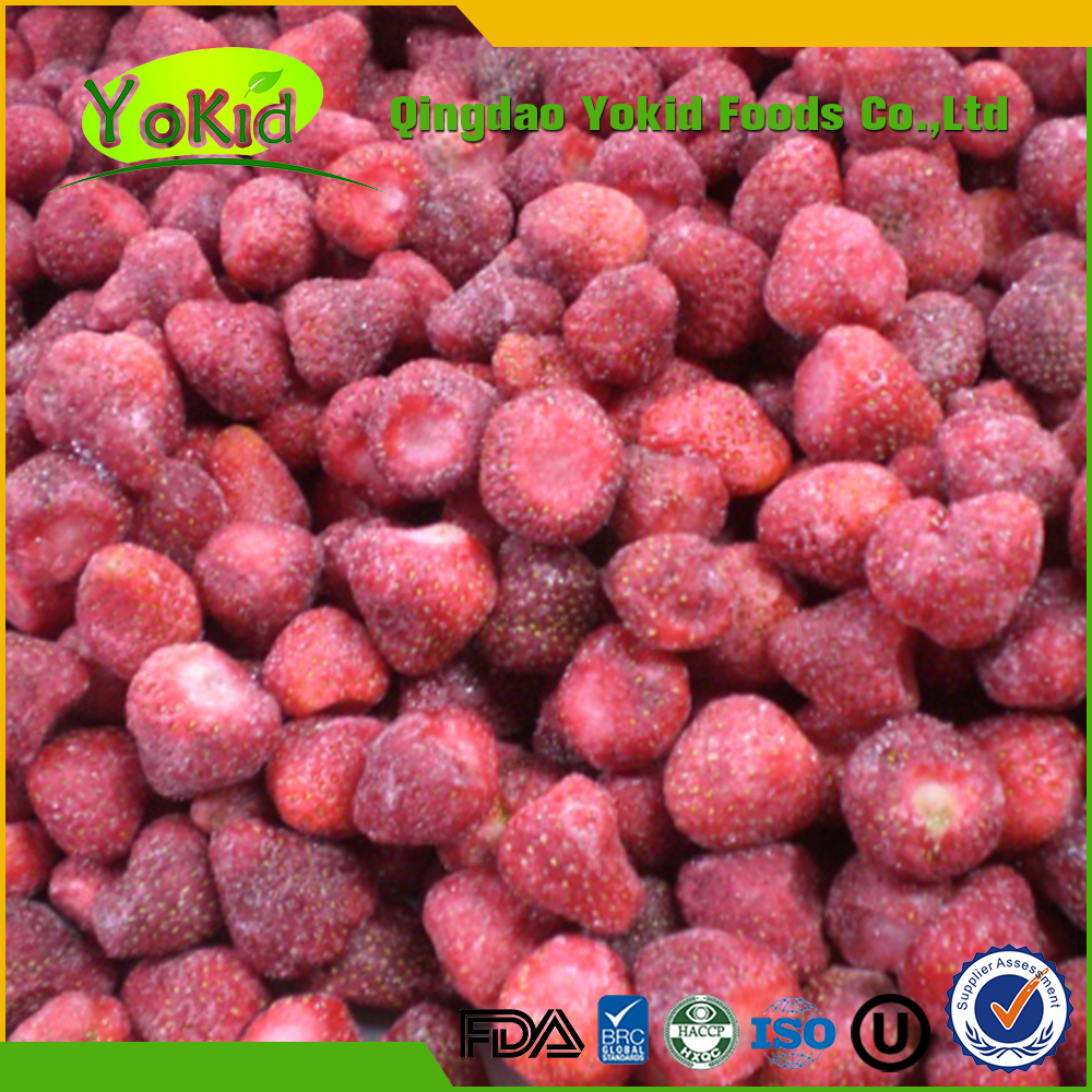 Juicy Chinese IQF Frozen Strawberry