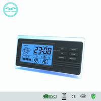 YD8213E Lcd Desktop Digital Alarm Clock