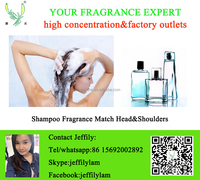 High concentration and good smell fragrance used for shampoo match Rejoice style