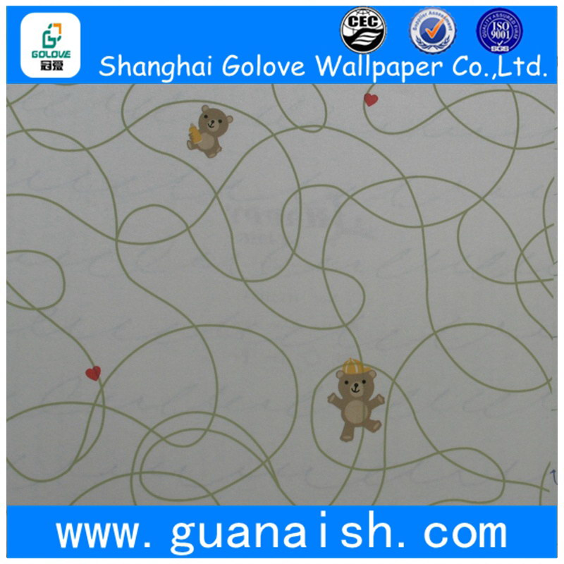 Design wide nonwoven flower wallpaper wall coatings