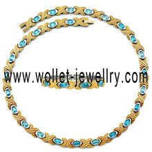 china manufacturer 2014 New design handmade colorful fashion jewelry rose gold wholesale