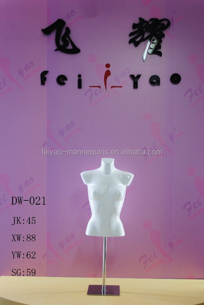High Quality Popular Model New Design Fashion Black Kid Mannequin Torso