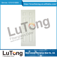 Factory Price Fiberglass Smooth Door And