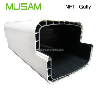 Double layer hydroponics system NFT gully