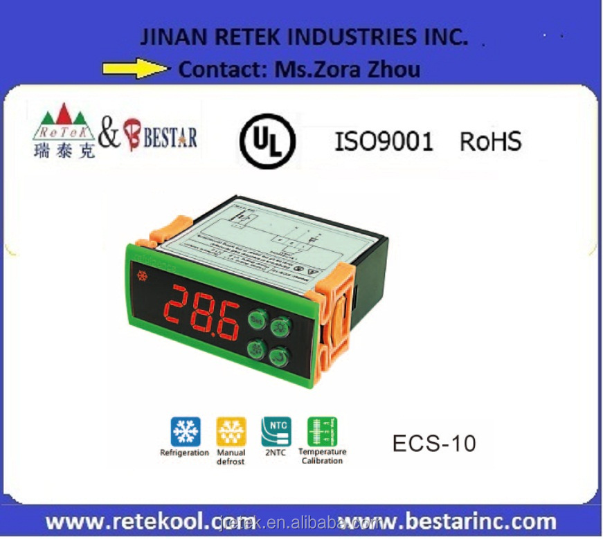 ECS-<strong>10</strong> LED Digital Display Pid Temperature <strong>Controller</strong> for Airconditioner