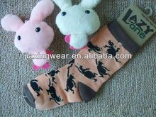 Anti-Bacterial girls leg warmer socks for footwear and promotiom,good quality fast delivery