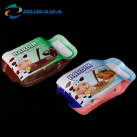 120ml plastic liquid chocolate beverage pouch