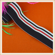 fahion High quality factory selling wholesale rib / elastic webbing/rib knit for waistband for garment accessories