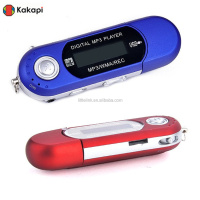New Digital MP3 Player For 2GB 4GB 8GB TF/Mic ro SD Card Backlight LED Bk M6 A1 hindi mp3 player songs