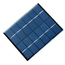 BUHESHUI High Quality 2W 6V Solar Cell Solar Module Polycrystalline Small Solar Panel For DIY Solar Battery Charger 110*136MM