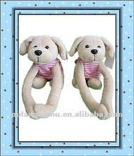 Lovely Dog Stuffed Toy with Magnet and Long Arms