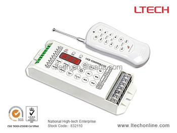 RGBW Controller RBGW/Y controller 4CH programmable led controller