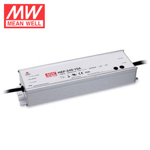 Mean well 240W 36V 6.7A DC Smps IP68 Design With PFC Function Waterproof Design 6 Years Warranty HEP-240-36B