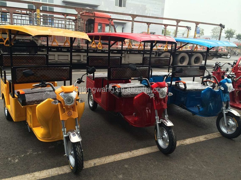 800W 1000W 1200W 1500W China 3 wheel motorcycle passenger load taxi tricycle