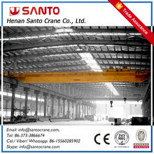 Small general use light weight of QD model double beams bridge crane10 ton