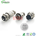 Aviation industry plug male and female 2 core all metal waterproof connector