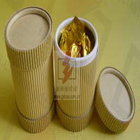 corrugated paper cylinder box for chocolate