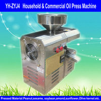 YH-ZYJ4 Household Stainless Steel Olive Oil Presses/Screw Oil Press/Cold Oil Press 0086-15313903096