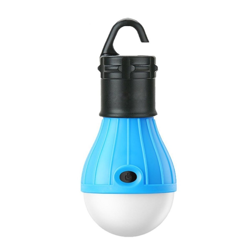 Outdoor Portable Hanging Bulb Fishing Lantern Lamp Torch, LED Camping Tent Light