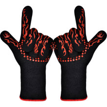 Silicone Grill Cooking BBQ Gloves Heat Resistant Gloves Oven Gloves